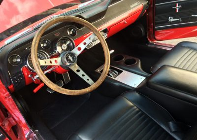 1964 Mustang interior restoration
