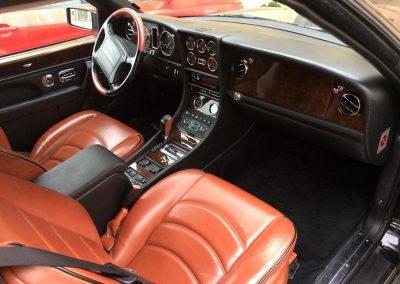 Bentley dashboard repair