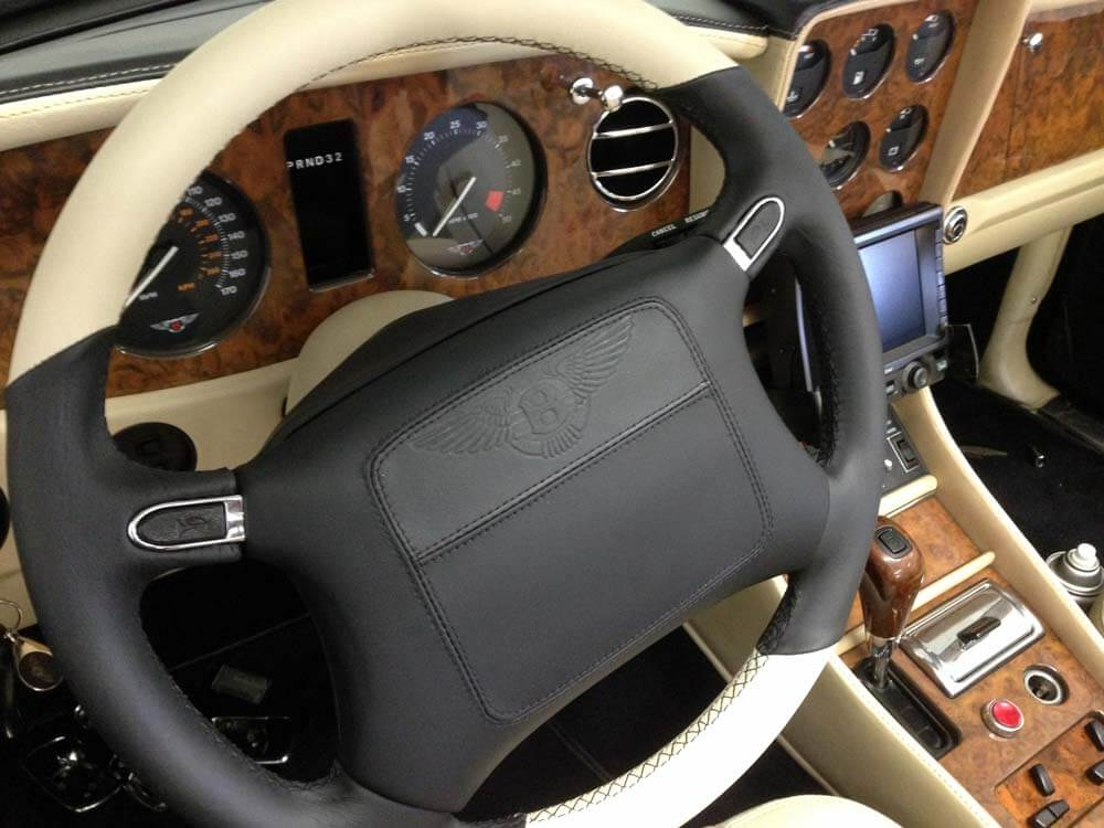 Leather Steering Wheel Repair In Los Angeles Best Way