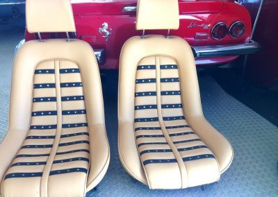 Ferrari seats restoration