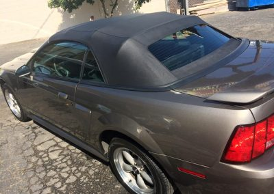 Ford Mustang Convertible top replacement