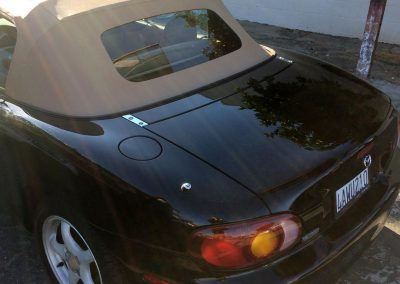Mazda Miata conveertible top replacement