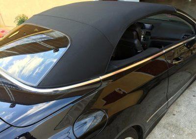 Mercedes E350 convertible top