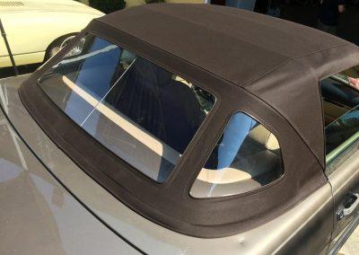 Mercedes convertible top repair