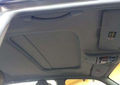automotive sunroof stuck