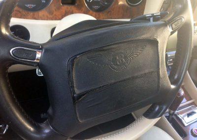 cracked steering wheel