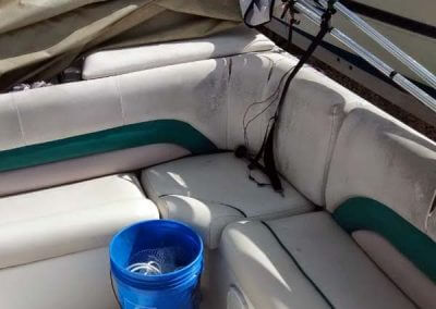 mold and tear marine upholstery