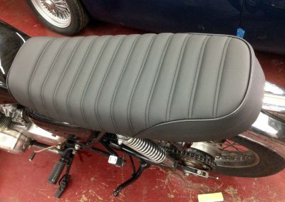 motorcycle seat upholstery replacement