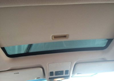open sunroof