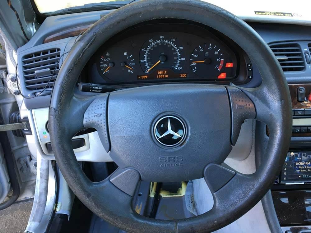 Leather Steering Wheel Repair In Los Angeles Best Way