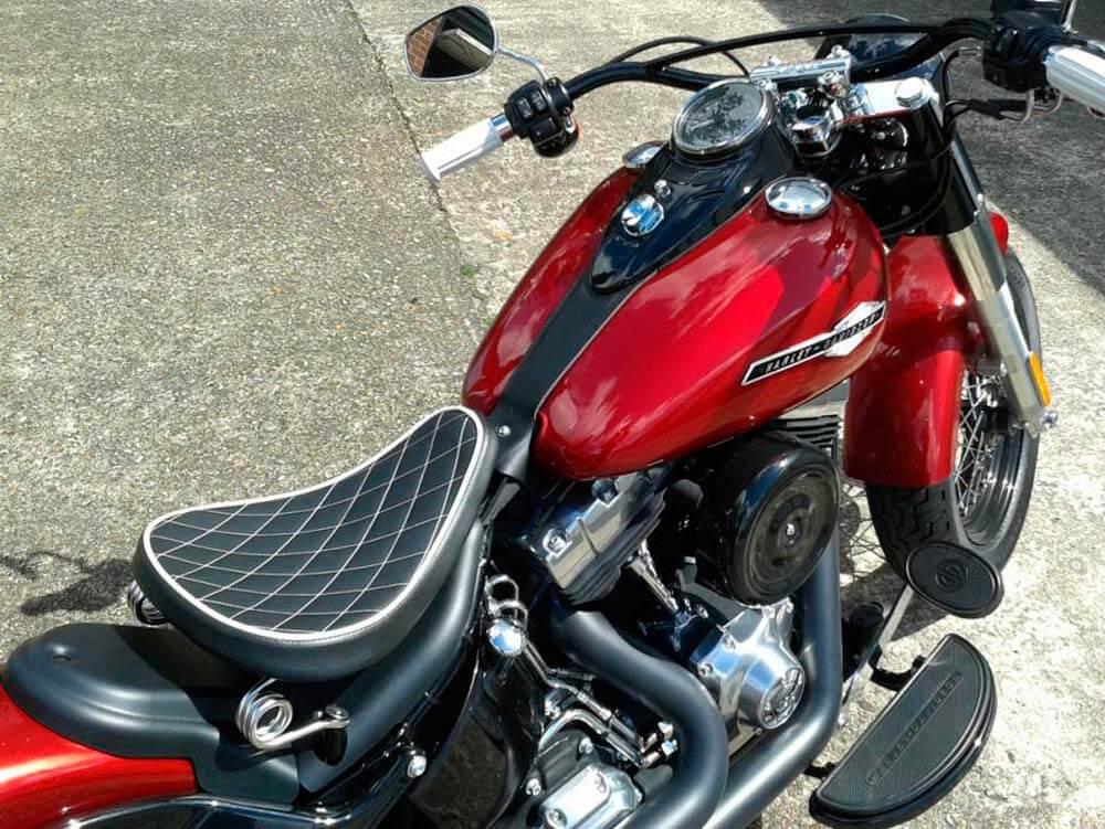 Motorcycle seat upholstery repair in Los Angeles | Best Way