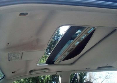 repair sagging sunroof