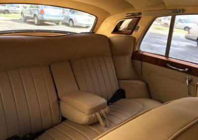 Rolls Royce interior restoration