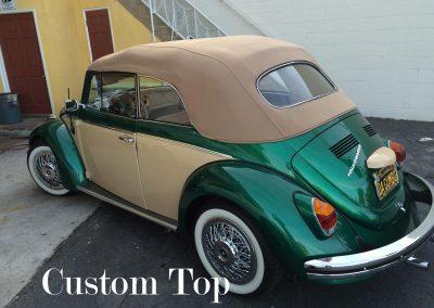 Custom convertible top