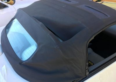 Nissan soft top repair