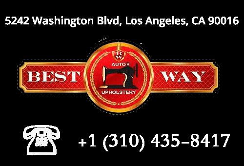 Best Way Auto Upholstery logo