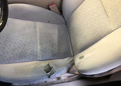 cloth seat upholstery repair
