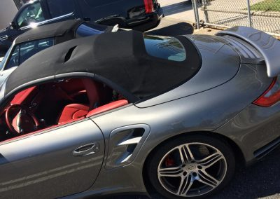 convertible top repair Porsche